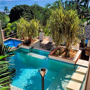 Beautiful Pool and Spa